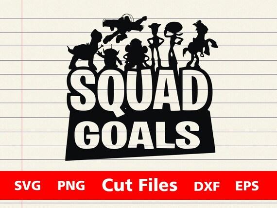 Squad Goals Toy Story Svg Toy Story Svg Buzz Woody Disney Etsy