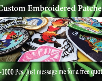 custom embroidery patch singapore