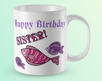 Sister Mug Gift For Coffee Birthday Sisters