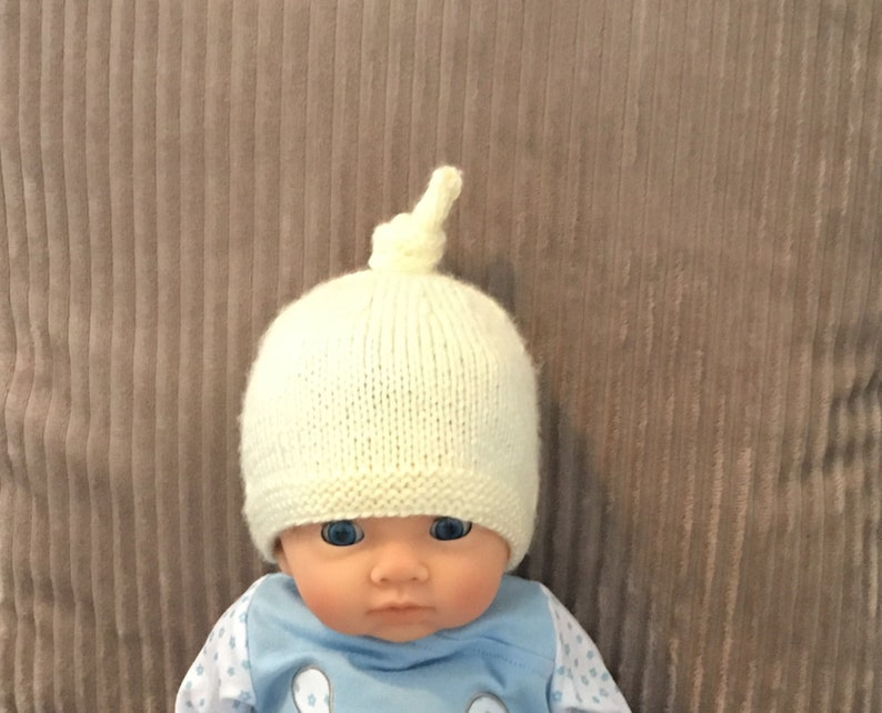 newborn hospital hat Knitted baby hat