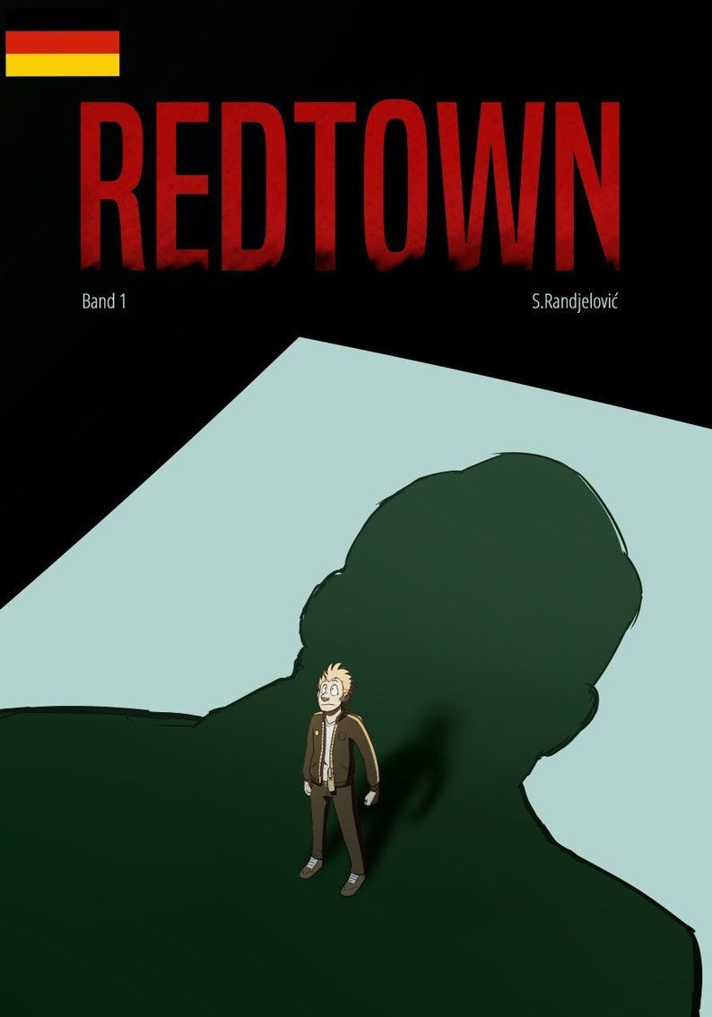 Redtown Comic English image 0