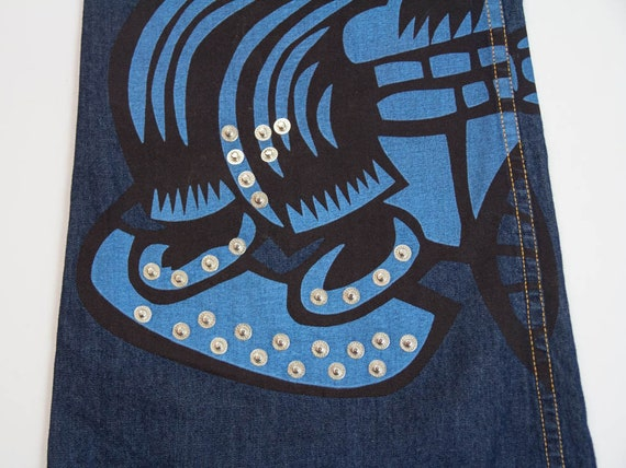 Custo Barcelona 90s, Nineties Trousers, Printed J… - image 5