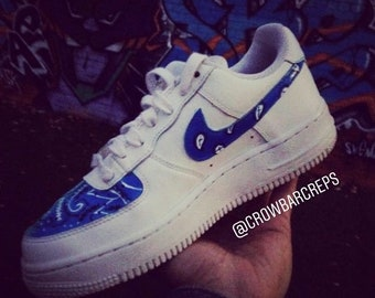 Release Date Nike Air Force 1 Blue Bandana 2e1ba 13067