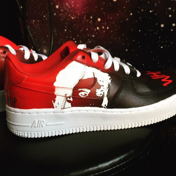 uvas Dispensación Preciso  Michael Jackson Nike Air Force 1 low | Etsy