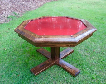 Rustic Poker Table