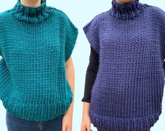 Easy Top Knitting Kit   Avery Top Knitting Kit - Three Lengths Available!