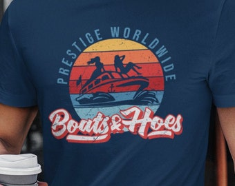 Boats & Hoes Step Brothers T-shirt