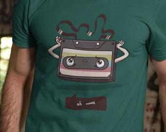 Old Audio Cassette Tape T-Shirt
