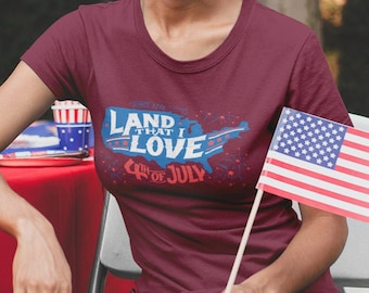 Land that I Love Vintage T-Shirt