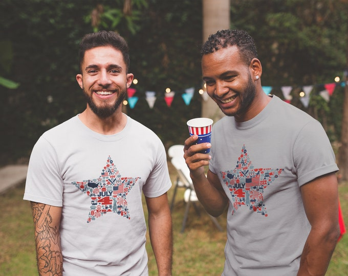 4th of July Icon T-Shirt
