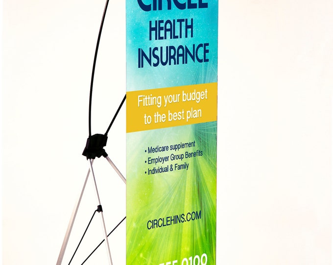X-Style Collapsible Banner Stands