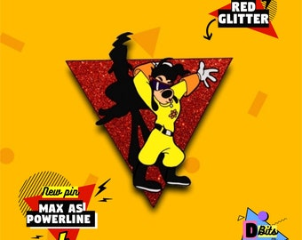 PRE-SALE Max as Powerline enamel pin (available in March) 708040a4c932