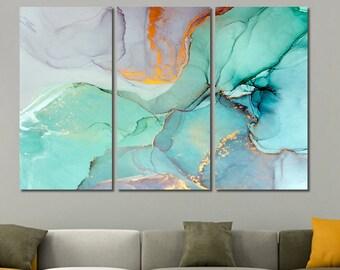 Superior Marble Canvas Print, Abstract Wall Art, Marble Canvas Art, Marble Wall Art,  Creative Modern Art, Abstract Wall Decor, Ready To Hang