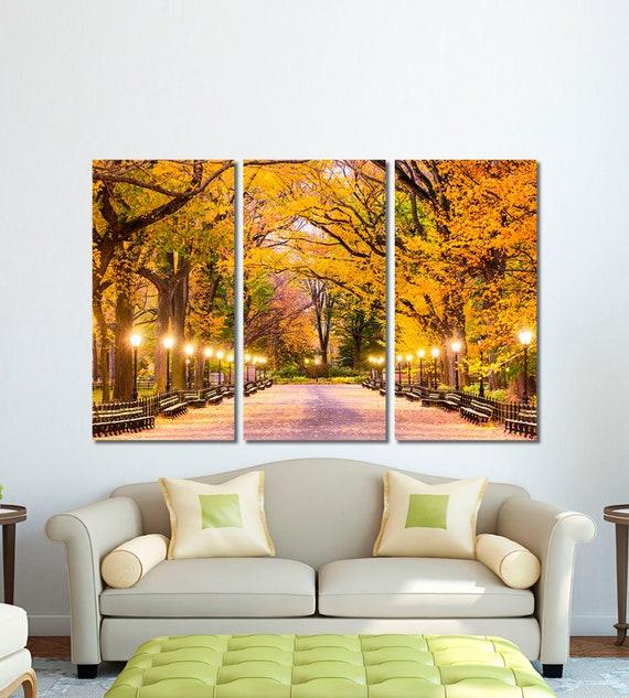 Central Park Canvas Wall Art Print New York City Home Decor