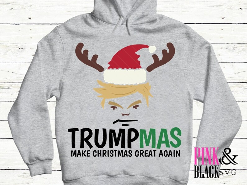 president Trump Trumpmas svg Christmas winter svg