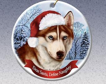 Husky ornament | Etsy