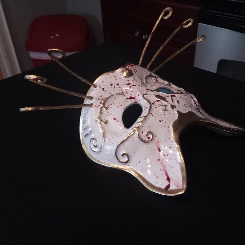 Bioshock Splicer Cat Mask-Bloody
