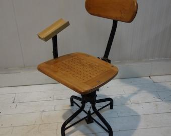 cdcb5618d23 Tan-Sad (1931) Engineers Swivel Chair for English Ordnance