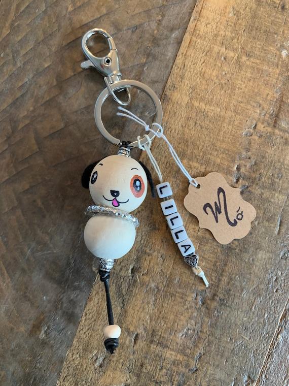 Personalized keychain dog keychain Doggy/&I keychain dog bagtag