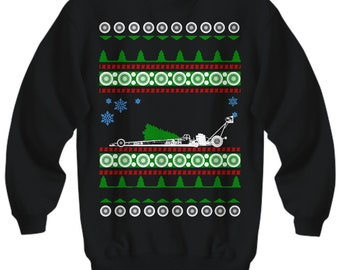 4XL American Ford Chevy Hot Rod Muscle Truck Restored Sweatshirt Stealth