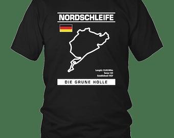 nurburgring tee racing track cadeau passionn/é de voiture T-Shirt