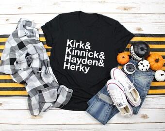 pretty nice e91e9 4e70a Unisex Iowa Hawkeye Kirk Kinnick Hayden   Herky T-Shirt, Women s TShirt,  Iowa Shirts, Ladies Tees