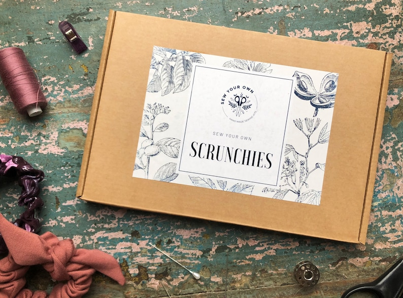 Sew Your Own Craft Kit  Scrunchies image 0