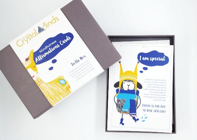 Mindfulness Affirmation cards for positive mindsetself image 0
