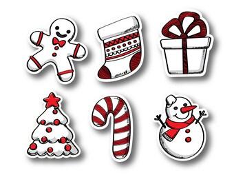 Christmas Cutouts Etsy