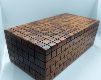 Precious wooden magic box