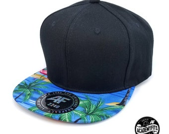 021d50aabb Tropical trucker hat | Etsy