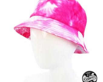 9cbe466c9afc4c AcademyFits Quality Tye Dyed Pattern Cotton Boonie Bucket Hat Fit Men Women  unisex Unconstructed Blank Classic Cap Fishing Garden Hat