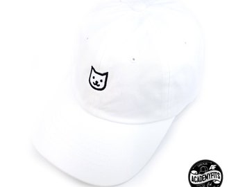 67f2acffd1b AcademyFits CaliCat Embroidered Classic Polo Style Baseball Cap Cotton Made  Adjustable Fits Men Women Low Profile Dad Hat Unconstructed
