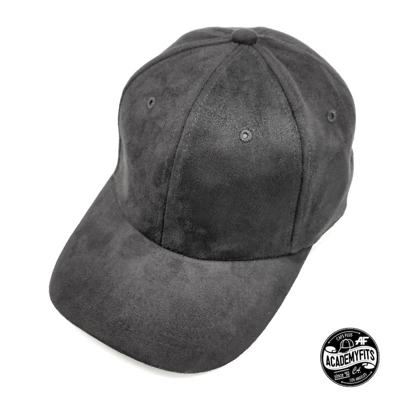 f30def36e AcademyFits Quality 6 Panel Low Profile Curved Visor Polyester Suede Dad  Hat Adjustable Hat Men Women Unisex Blank Plain Baseball Cap