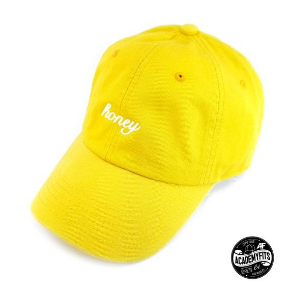 c30c576e64e AcademyFits Honey Embroidered Classic Polo Style Baseball Cap
