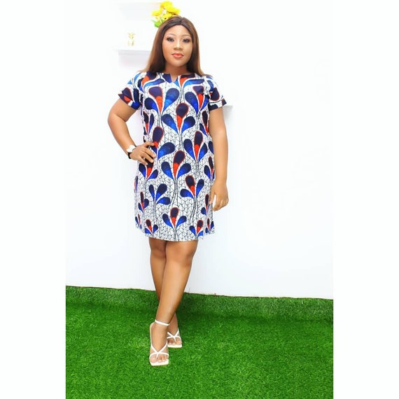 African clothing African dress Gbemi African print  pencil dress women clothing women dress