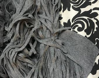 100 Black #6 wool rug hooking strips cutter 12\u201d cutter