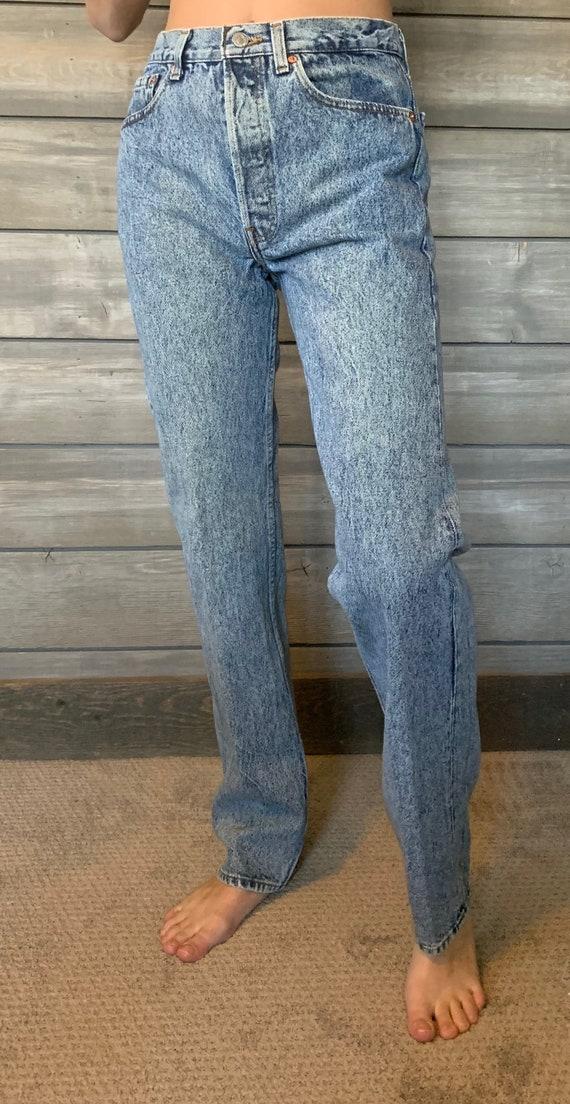 Vintage Levis Jeans | 501 Denim Jeans | Relaxed f… - image 9