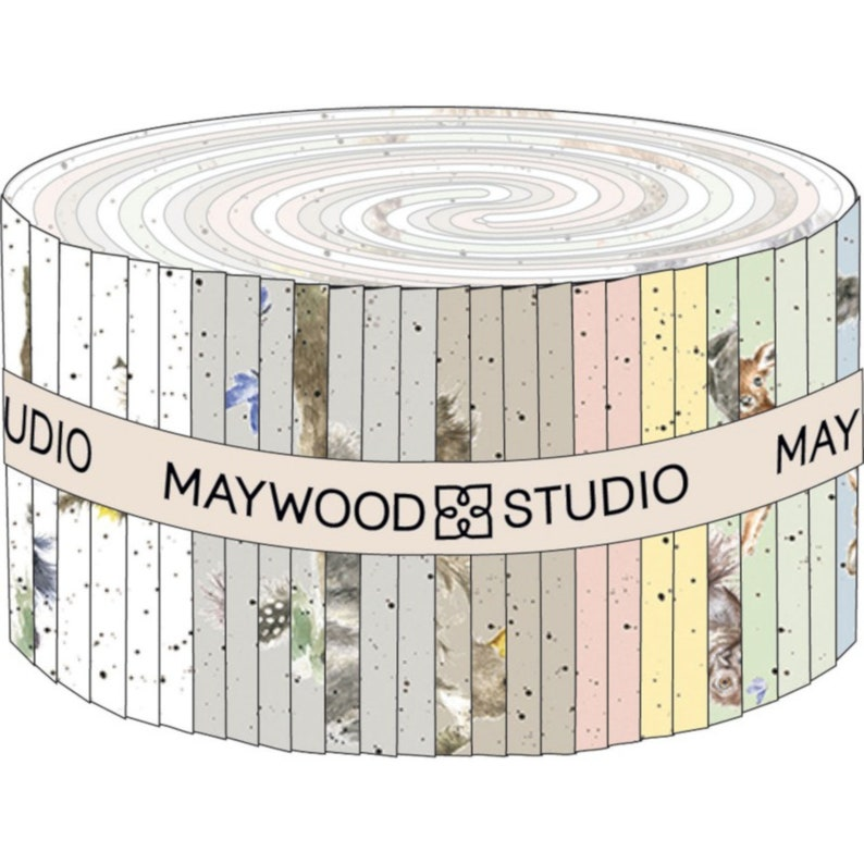 2.5 Strips By Hannah Dale  For: Maywood Studios 40 2-12 Strips STMASLOI LOVE IS Jelly Roll New for Feb 2019 New