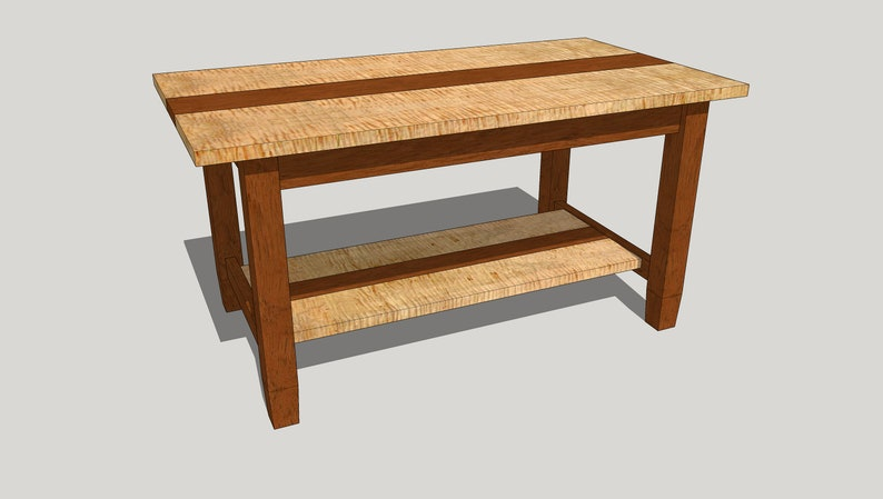 db49ccfeac1 Lynne Coffee Table with Mortise and Tenons