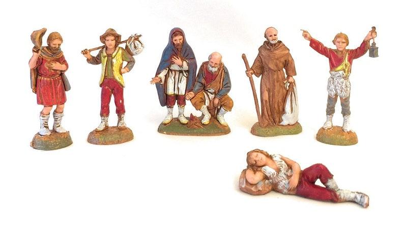 Landi Nativity Villager Scene Figurine Presepio Personaje Pesebre Nacimiento