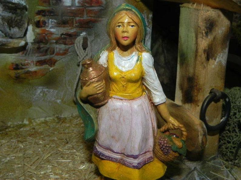 Nativity Scene Figurine Manger Creche Presepio Pellegrini Figura para Pesebres