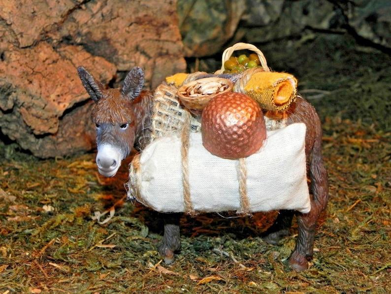 Donkey Animal Figurine Nativity Scene Creche Manger Presepio Pesebre Burro