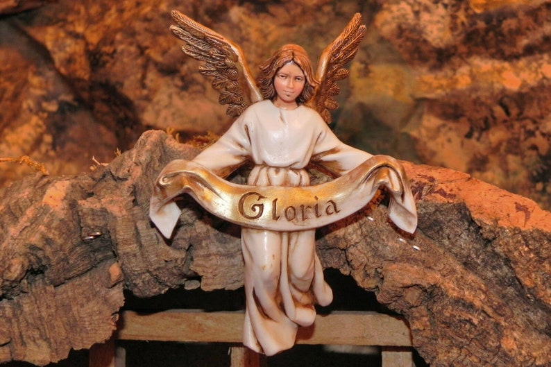 Gloria Angel Figurine Nativity Scene Presepio Pesebre Figura Angel Pesebre