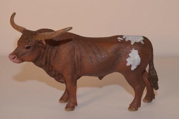 Schleich Texas Longhorn Bull Toy Figurine Schleich North America 13866