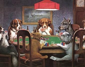 Poker Spielende Hunde