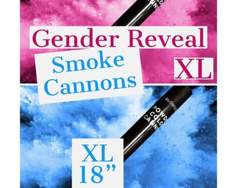 Gender reveal smoke | Etsy