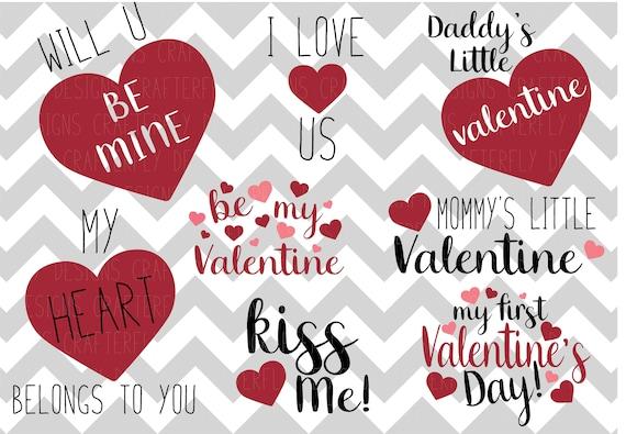 Valentine S Day Bundle Pack Svg Jpg Png Cut File Etsy