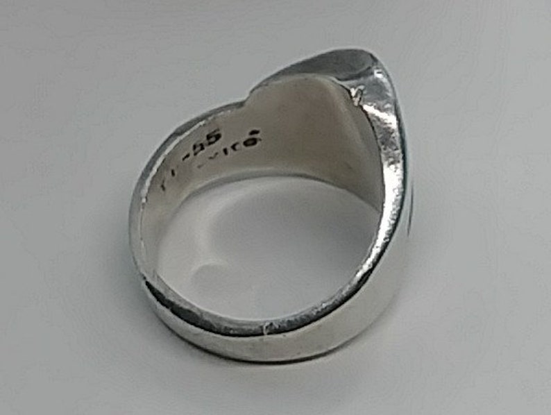 Vintage mexico sterling modernist ring size 7.5