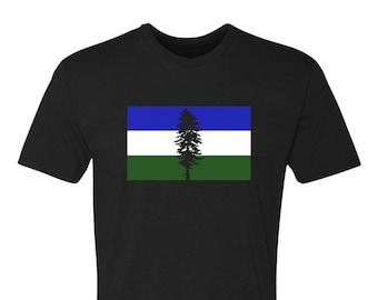 PNW T-shirt, Cascadia T-shirt, PNW tee, T-shirt, Cascadia Flag Tee